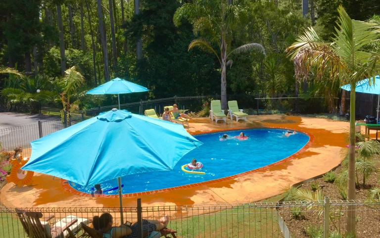 Summer well and truly catered for in our renovated pool complex !