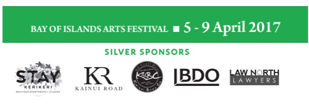 We are proud to be sponsors of the Bay Of Islands Arts Festival