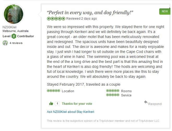 Trip Advisor review says it all !