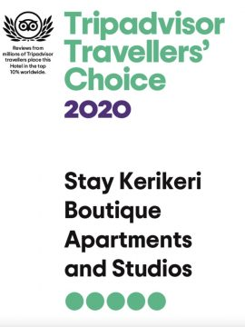 Coveted : 2020 Trip Advisor Travellers Choice Award